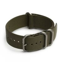 AMPHIBIAN NATO/ZULU STRAP 22mm Military green