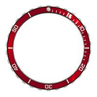 Vostok Amphibia Red Bezel