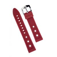 Silicon Strap Anti Dust 20mm Red