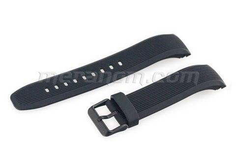 Amfibia Turbina Schwarz PU-Armband